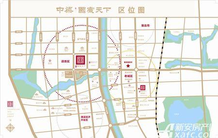 中梁·国宾天下交通图