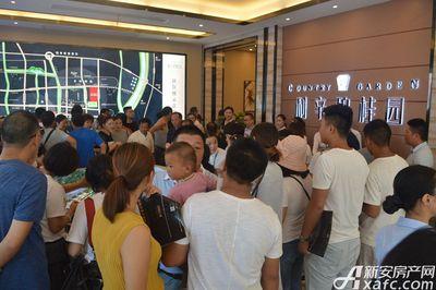 利辛碧桂园城市展厅开放(2017.8.27)