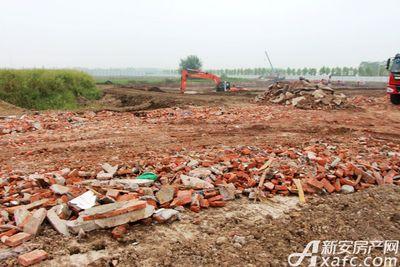 文一叶语湾地块施工中(2017.8.30)