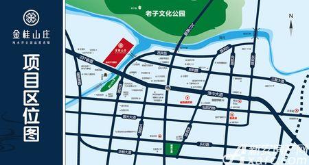 金桂山庄交通图