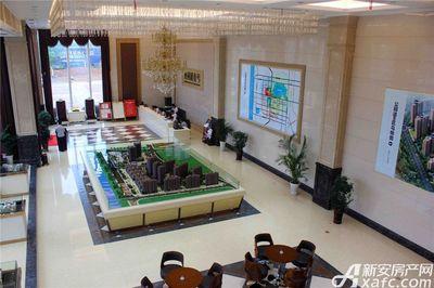 公园道B区御湖售楼部实景(2017.9.1)