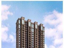 公园道B区御湖高层住宅透视图