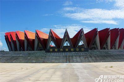 公园道B区御湖铜陵体育中心