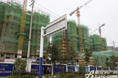 恒大悦龙台25#楼建至11层左右(2017.8.31)