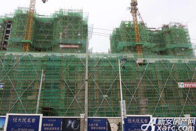恒大悦龙台26#27#楼建至10层左右(2017.8.31)