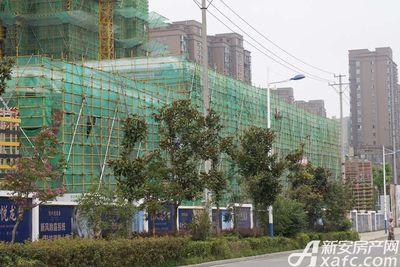 恒大悦龙台商铺正在建设中(2017.8.31)