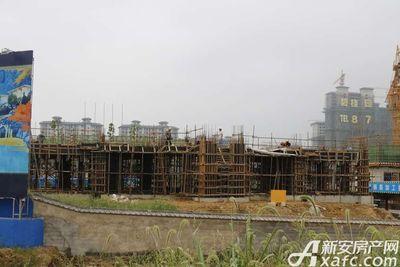 碧桂园•钻石湾项目正在建设中(2017.8.31)