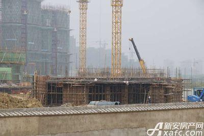 碧桂园•钻石湾部分楼栋刚刚开始建设(2017.8.31)