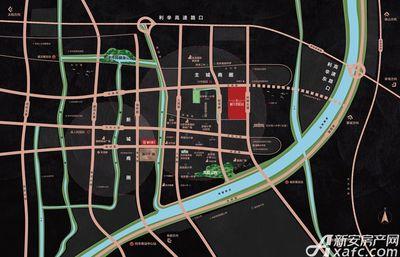 利辛碧桂园交通区位图
