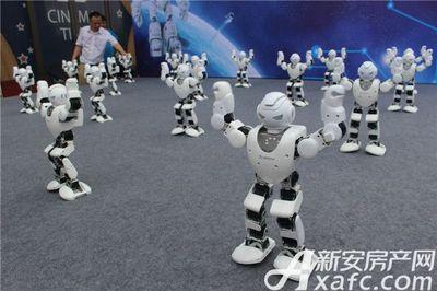 淮北碧桂园智能机器人20170909
