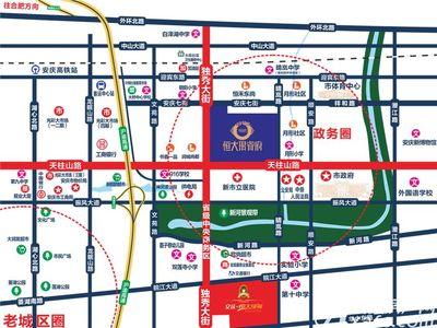 恒大珺睿府交通图