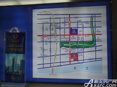 恒大珺睿府城市展厅区位图