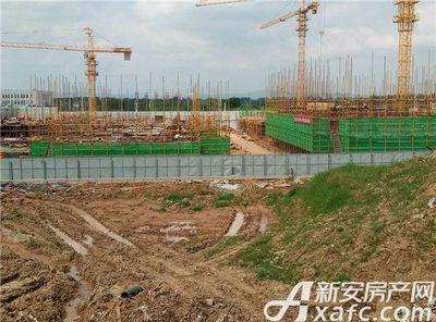 鸿坤理想城9月工程进度