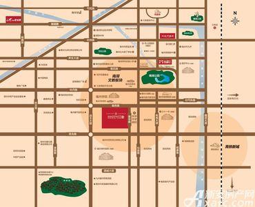碧桂园珍宝岛时代印象交通图