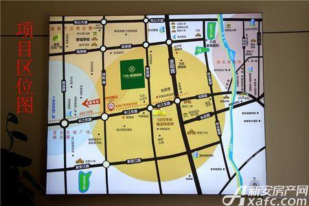 力高澜湖前城交通图