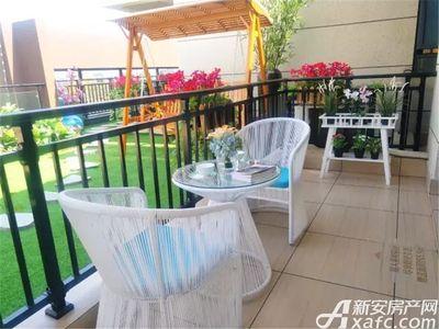 淮北碧桂园118㎡样板间-阳台