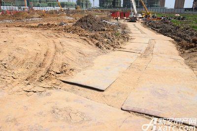 文一叶语湾地块施工中(2017.9.18)