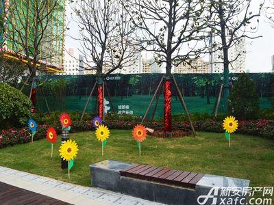 恒大珺睿府景观绿植2017.9.16
