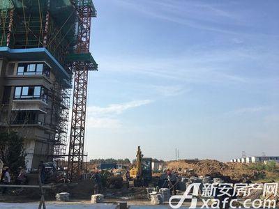 新城·悦府工人正在施工建设(2017.9.18)