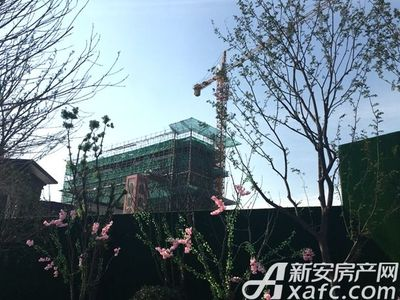新城·悦府2#楼工程进度(2017.9.18)