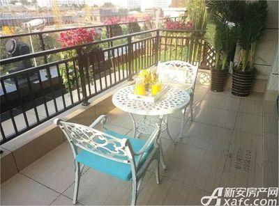 淮北碧桂园190㎡样板间-阳台