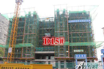 淮北凤凰城D15#建到8层20170919