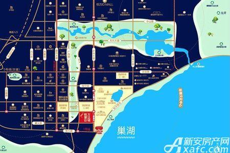 合肥融创文旅城•融园交通图