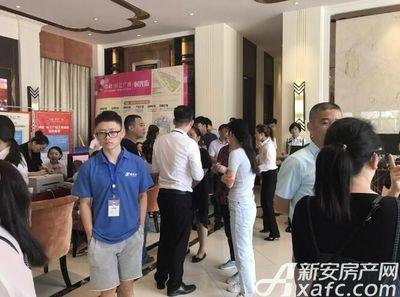 中航长江广场中航长江广场二期验资现场客户(2017.9.16)