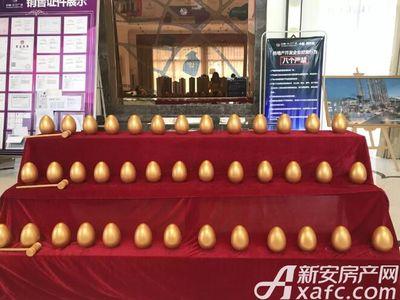 中航长江广场中航长江广场二期验资现场砸金蛋区(2017.9.16)