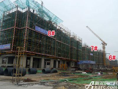 宜秀蓝湾6#、7#、8#工程进度(2017.9.6)