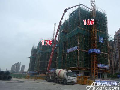 宜秀蓝湾17#、18#工程进度(2017.9.6)
