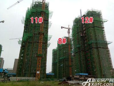 大地凤凰城8#、11#、12#工程进度(2017.9.6)