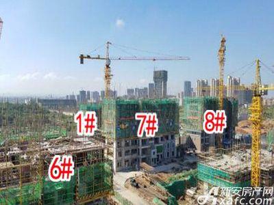怀宁碧桂园1#-6#7#8#号楼在建2017.9.22