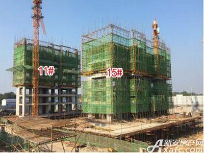 怀宁碧桂园15#-11#号楼在建2017.9.22