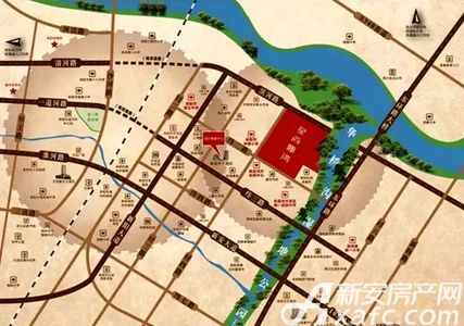 星尚骊湾交通图