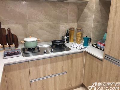 新城·悦府A户型100㎡三室两厅一厨一卫-厨房