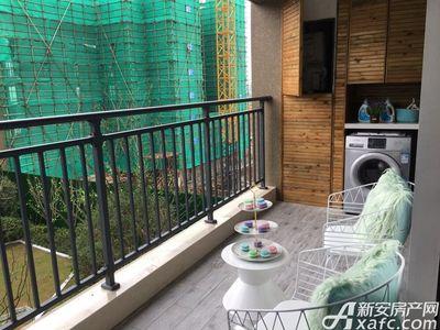 新城·悦府A户型100㎡三室两厅一厨一卫-阳台