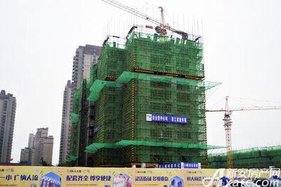 恒大名都恒大名都8#楼工程进度(2017.9)