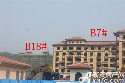 地矿龙山湖苑B7#、B18#项目进度(2017.9.28)