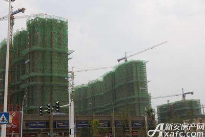 恒大悦龙台项目正在建设中(2017.9.29)