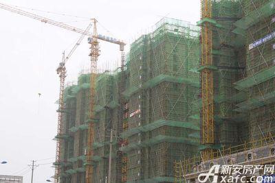 恒大悦龙台已建至15层左右(2017.9.29)