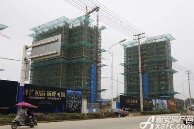 众发·阳光水岸12#楼建至13层左右(2017.9.29)