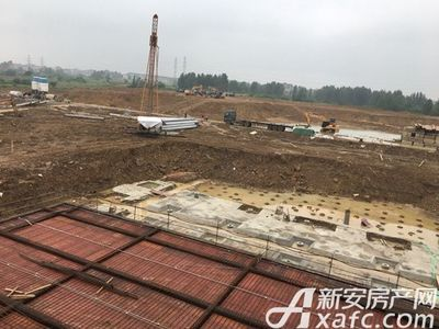 新城·悦府1(1)工程进度(2017.10.5)