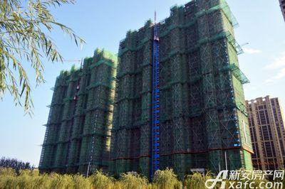 万成·哈佛玫瑰园一期高层19#20#工程进度(2017.10)