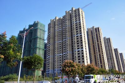 万成·哈佛玫瑰园一期高层工程进度(2017.10)