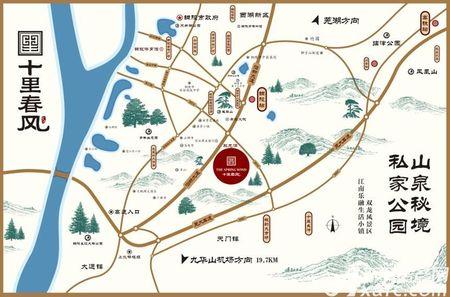 文一•十里春风交通图