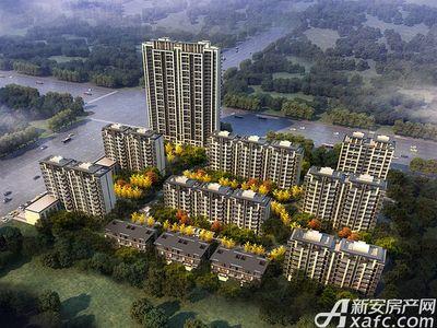 三巽亳公馆项目鸟瞰图