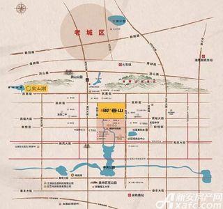 万创御香山交通图