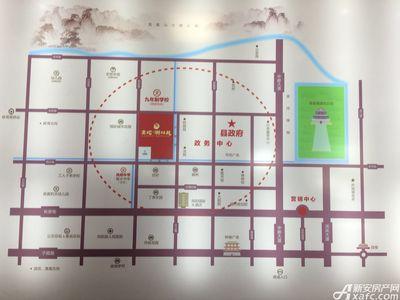 金地翰林苑交通图