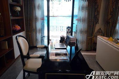 万成·哈佛玫瑰园玫瑰园洋房样板间:客厅